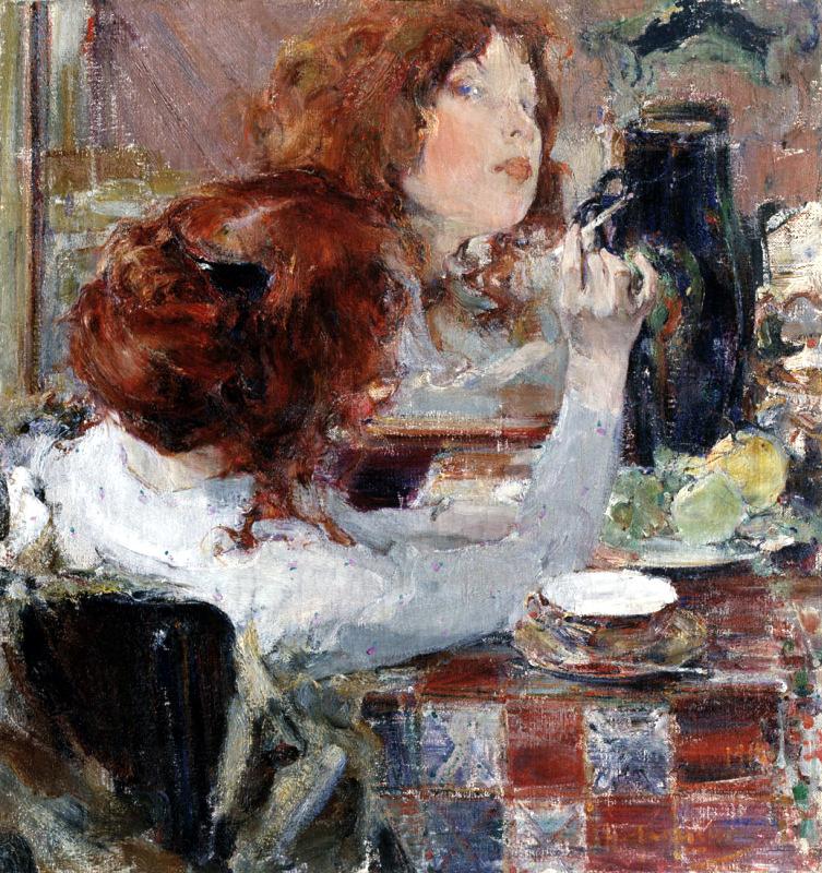 Золотые волосы, 1914 год. Приморская картинная галерея, Владивосток