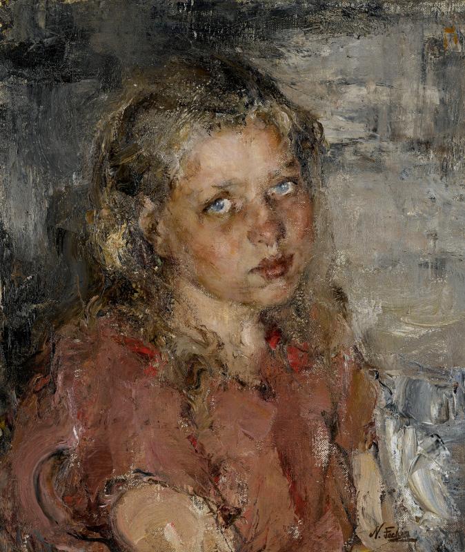 Портрет девочки, 1910 год. Частная коллекция