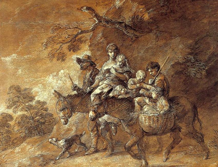 Крестьяне, едущие на рынок