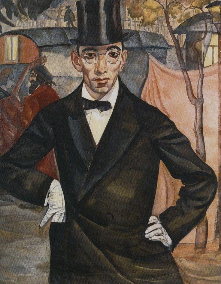 Портрет фотографа М. А. Шерлинга,  1916