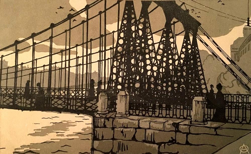 цепной мост 1903