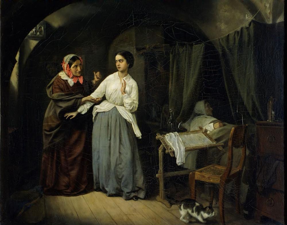 Николай Шильдер, 1857 Искушение