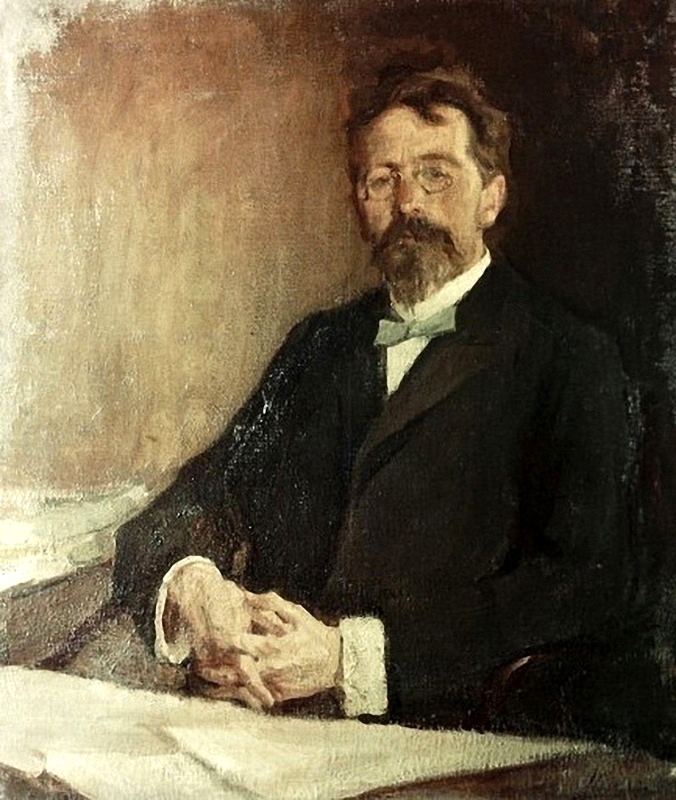 15.1904 Портрет Антона Павловича Чехова, 1904 Николай Ульянов