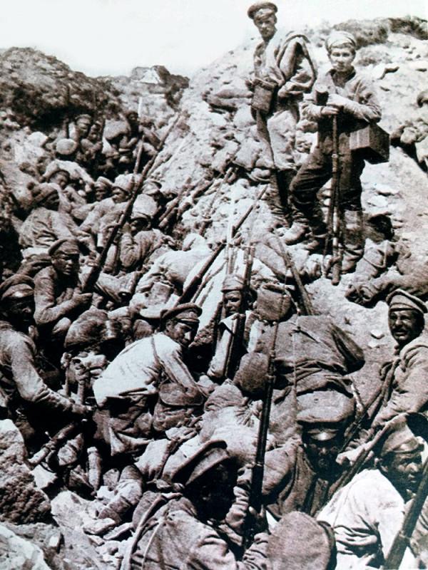 Наступление Керенского или июньское наступление. v01