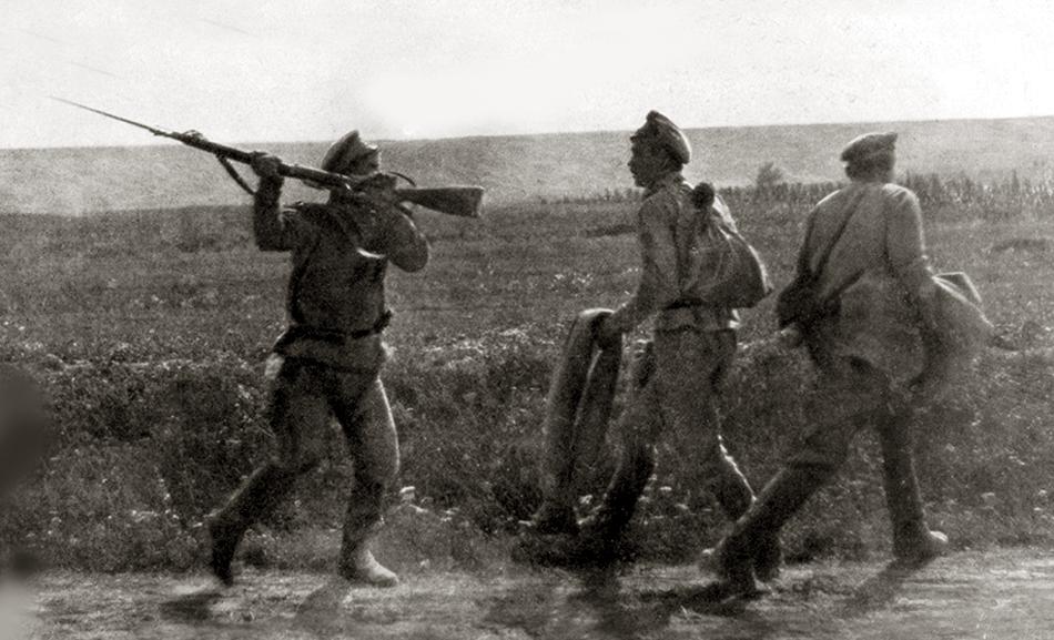Наступление Керенского или июньское наступление. soldats-4