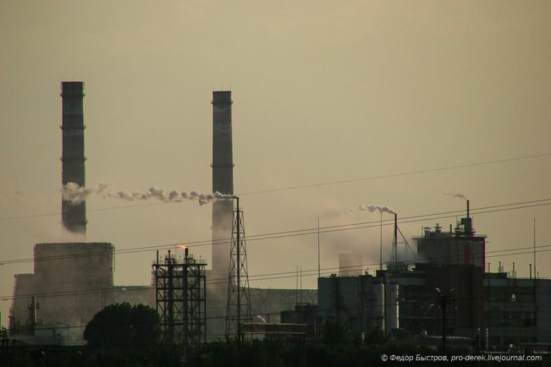 Россия достигла рекорда в загрязнении воздуха