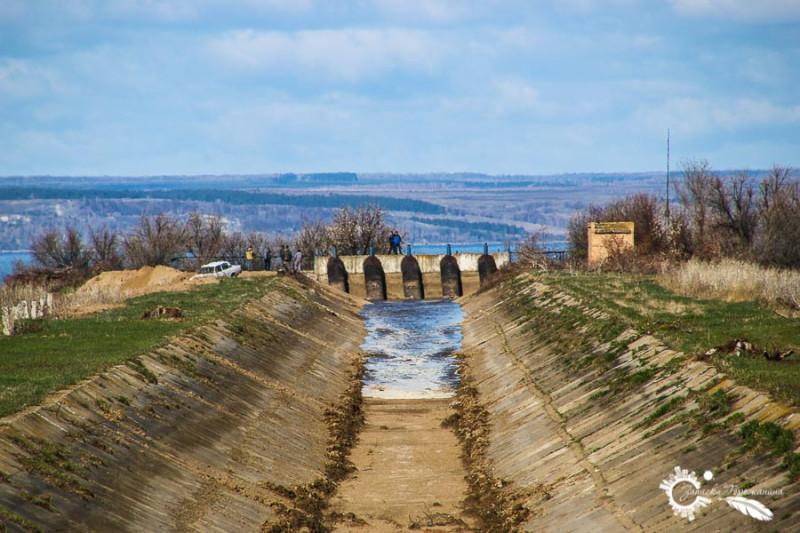 Канал Жигулевской оросительной системы
