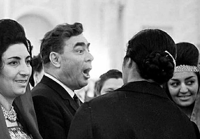 Генсек КПСС Леонид Брежнев. Фото: АНБ