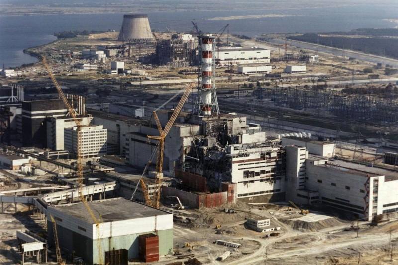 Чернобыльская АЭС Фото: ТАСС