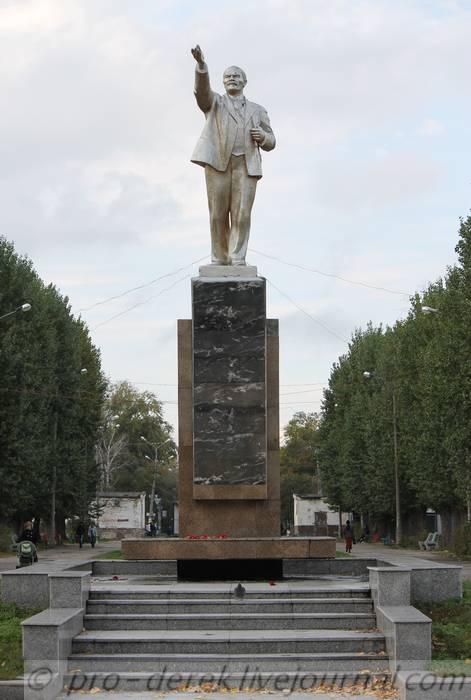 Памятник Ленину в Центральном парке Тольятти