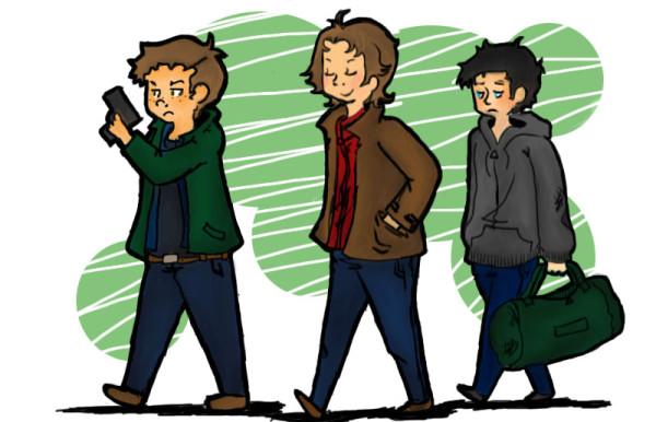trio sketch