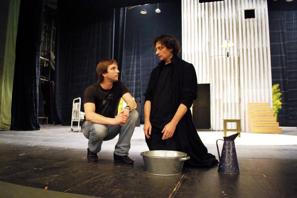 Приглашение на казнь. Репетиции спектакля. 2009 год