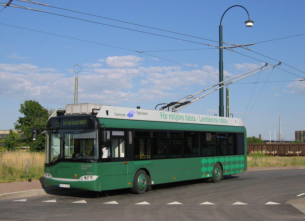 Как развивалась история троллейбуса