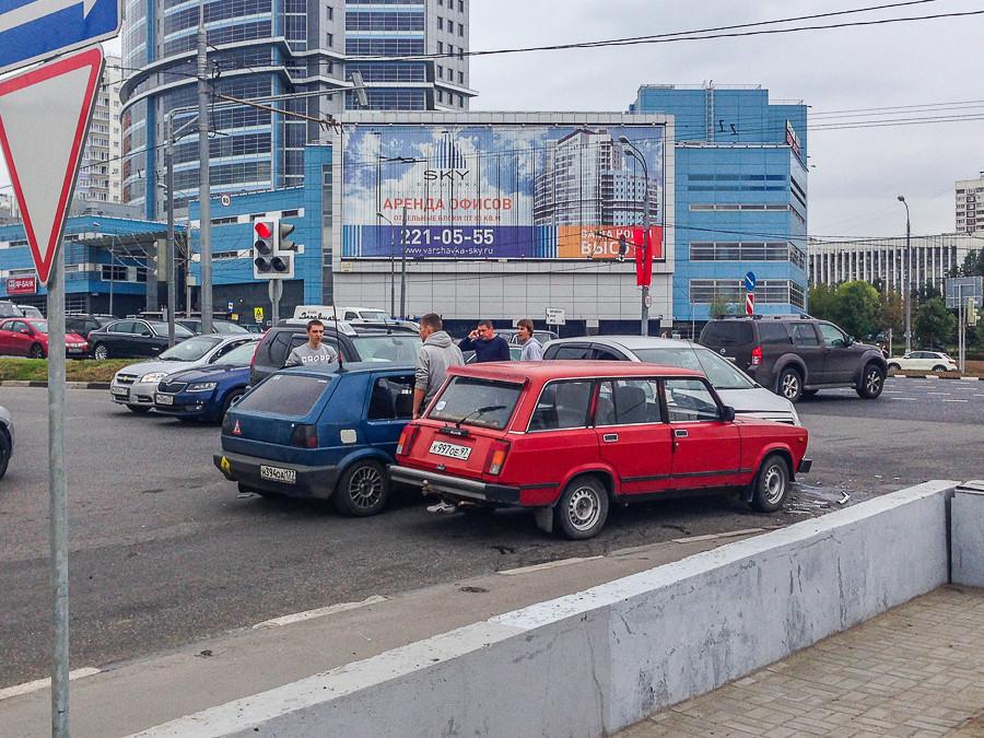 реконструкции Варшавки.