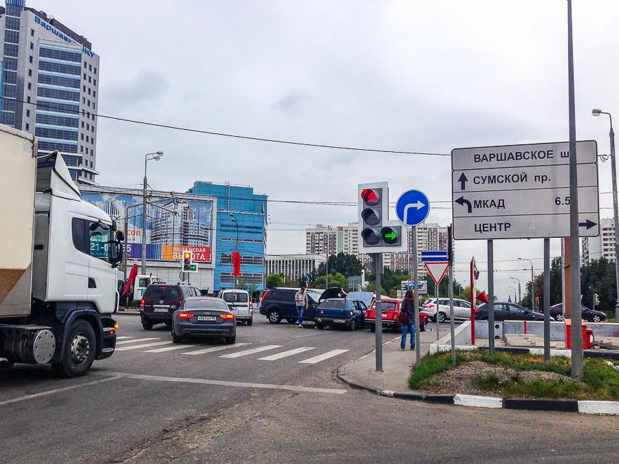 на Варшавку только направо