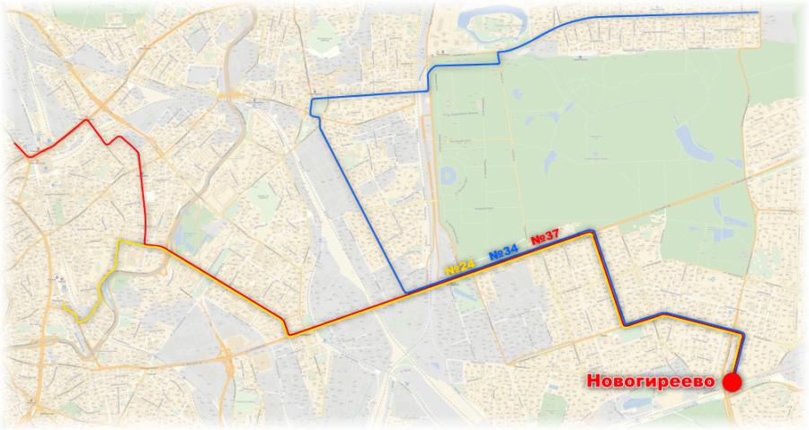 схема трамвайных маршрутов 24,
