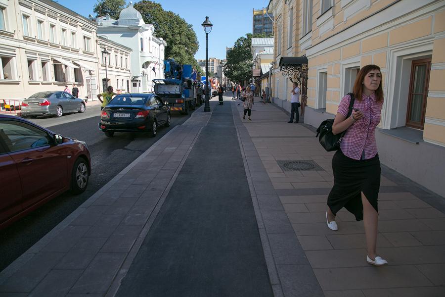 На улицах Москвы станет в 5 раз больше пешеходов