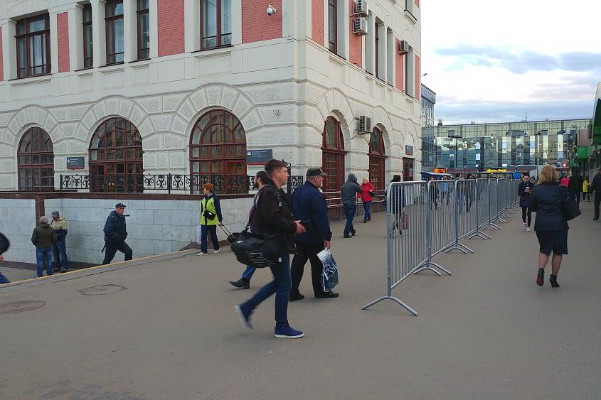 Блокада московских вокзалов набирает обороты