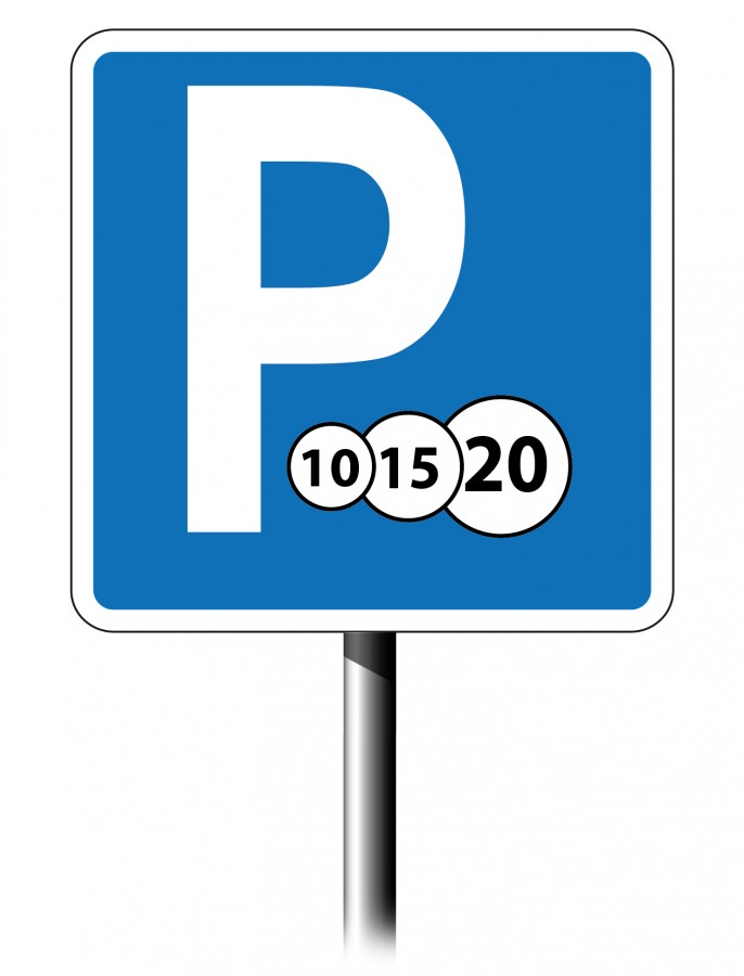 Знаки платной парковки
