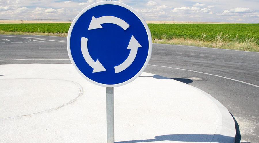 Движение по кругу теперь главное, и когда на дорогах появится вафельница