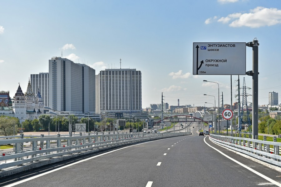 В Москве повышают скорость на дорогах