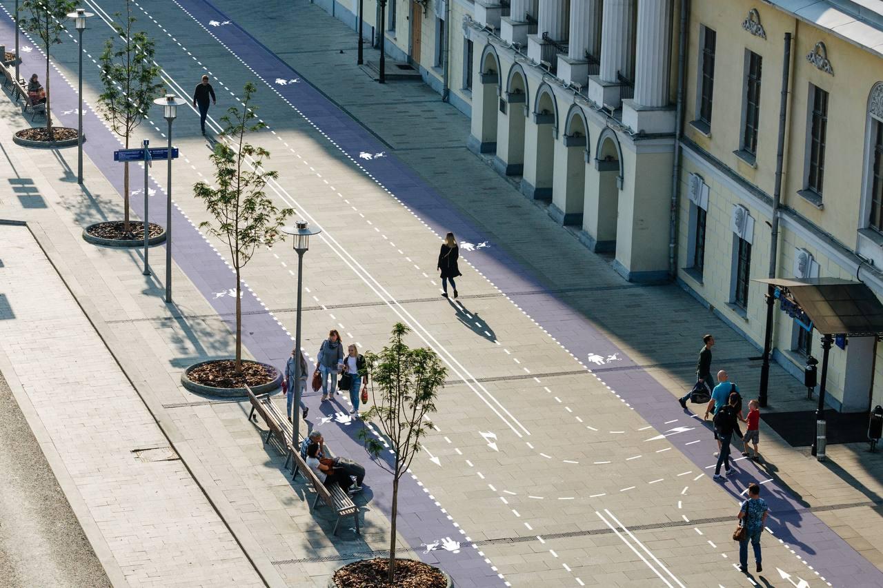 Разметка для пешеходов