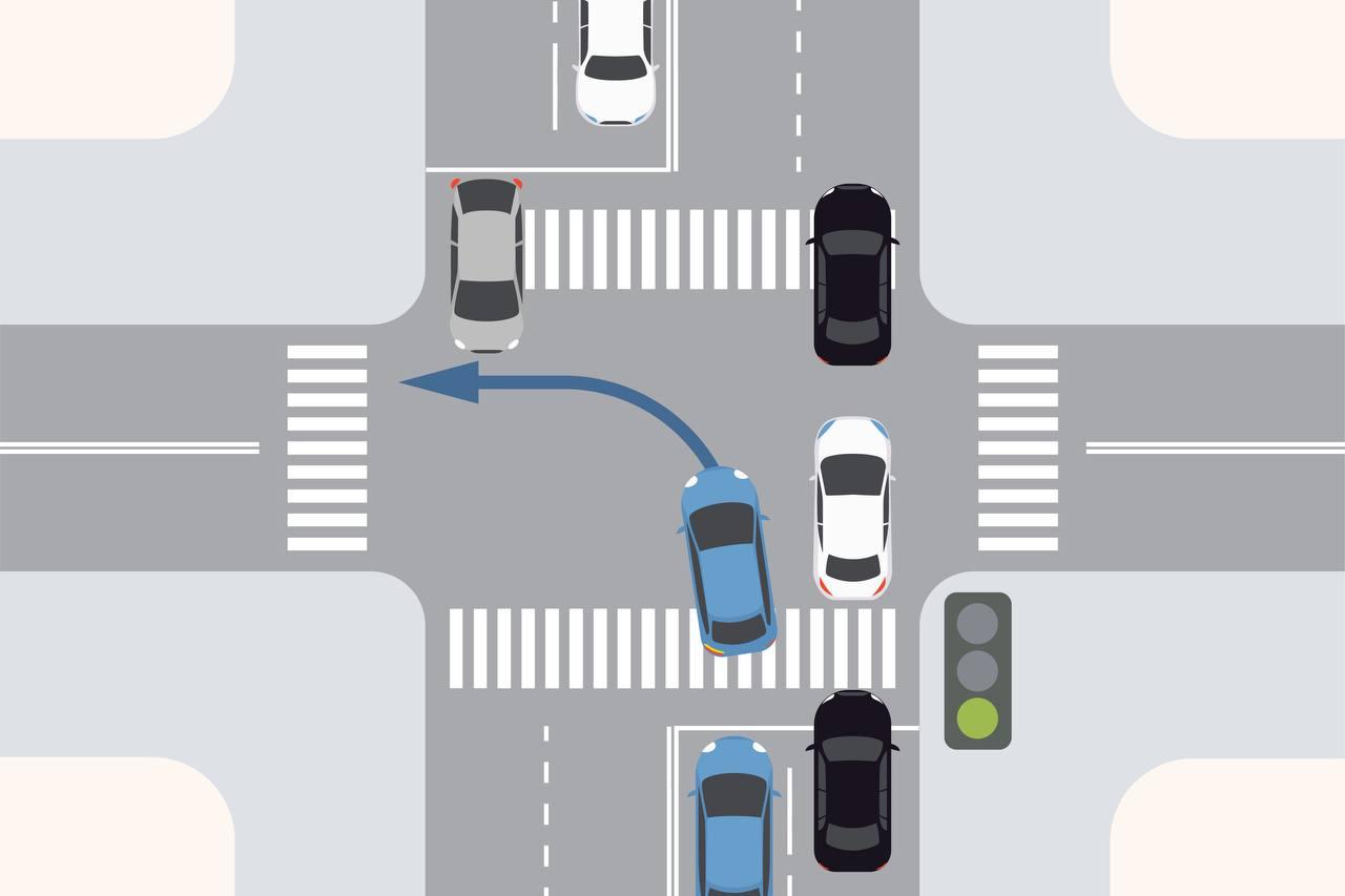 Зачем нужны красные кресты на светофорах
