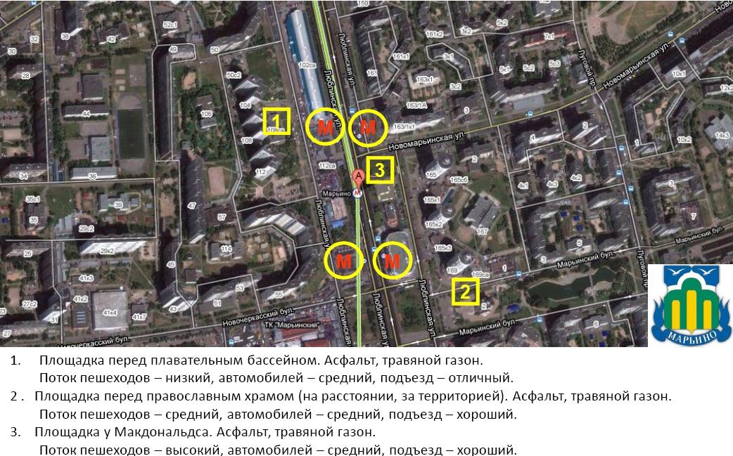 Схема организации велопарковок