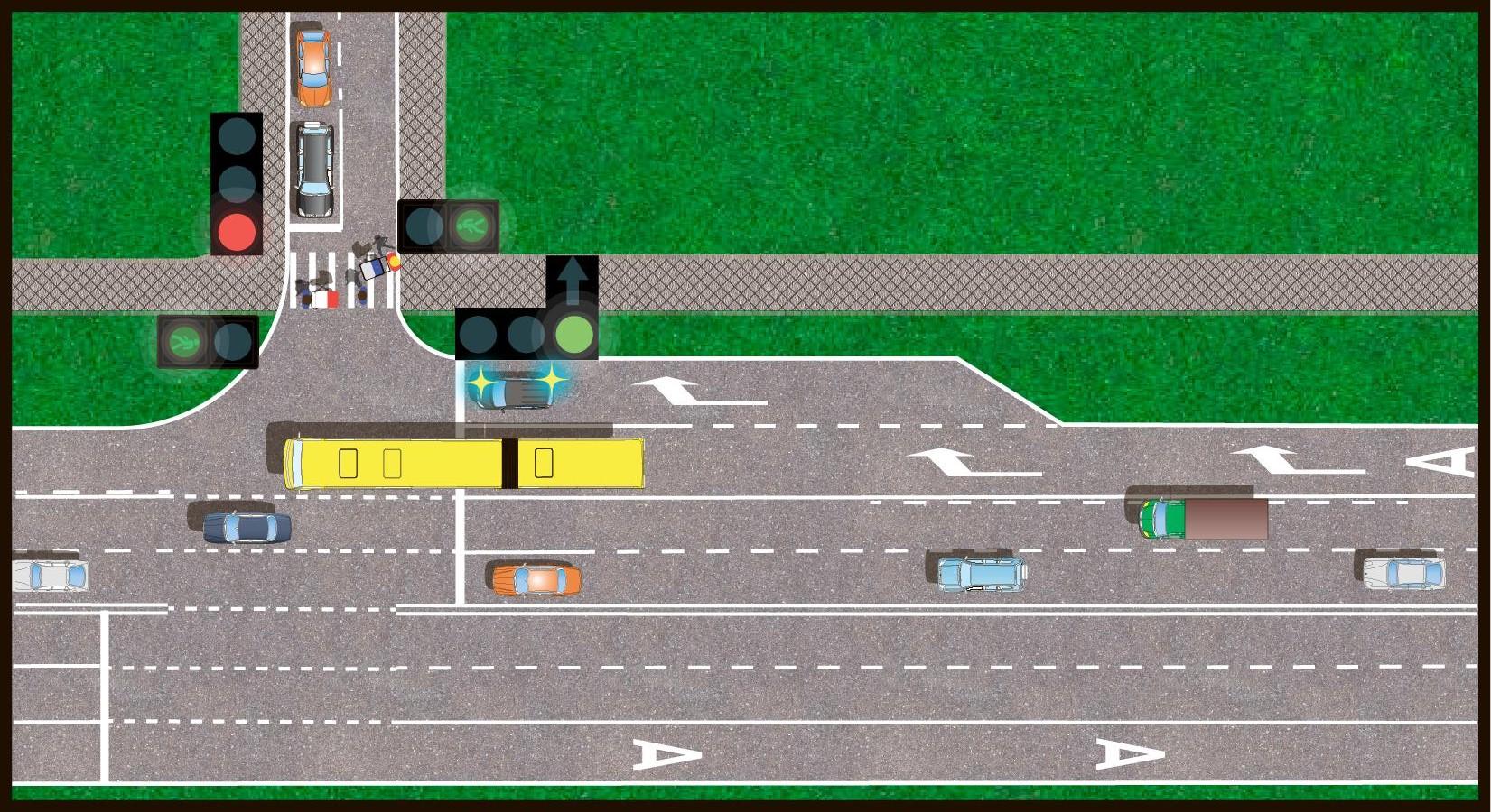 Штраф полоса для общественного транспорта схема6