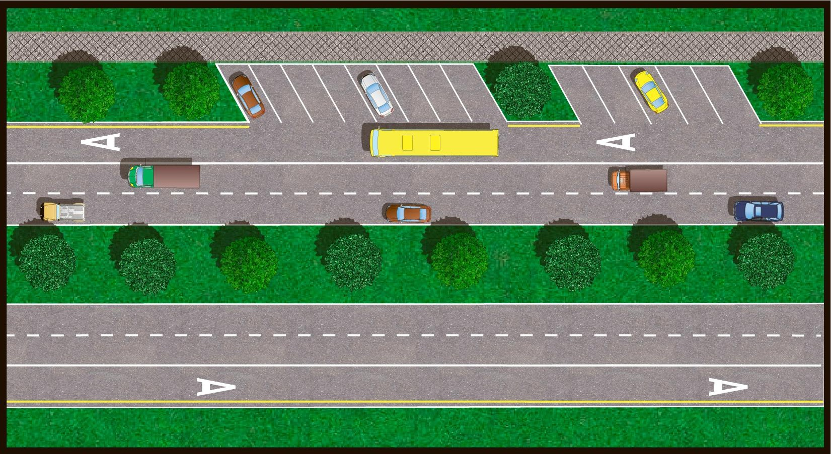 6. Троллейбусы тоже тормозят движение по выделенным полосам.  Дело в том, что по ГОСТу ширина остановочного кармана...