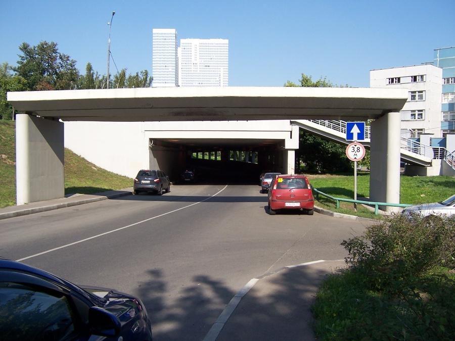1 чертановский тоннель
