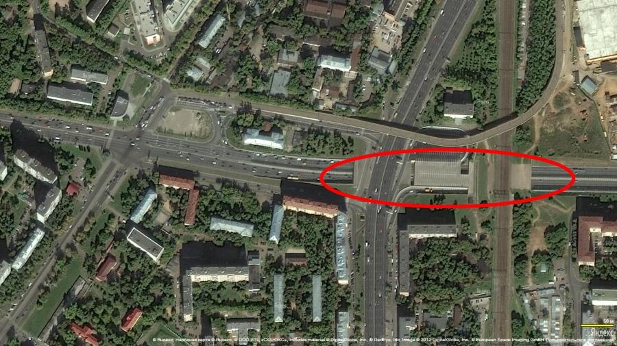 под Варшавским шоссе и под