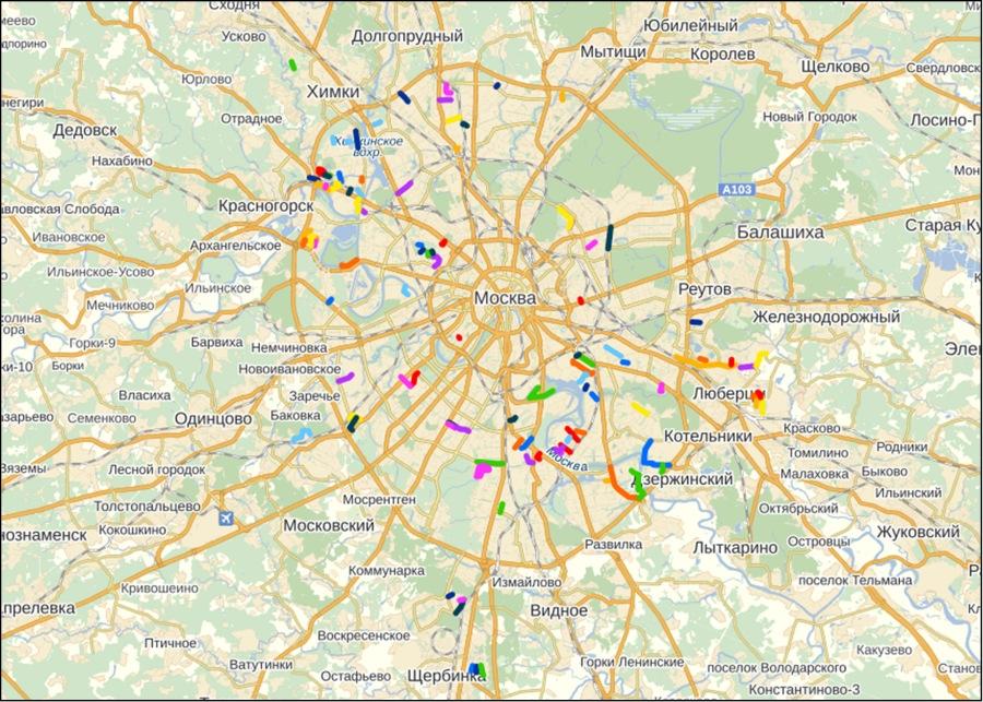 50 забытых улиц в столице