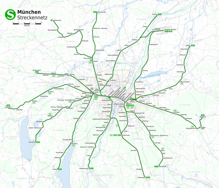 Городские электрички Мюнхена