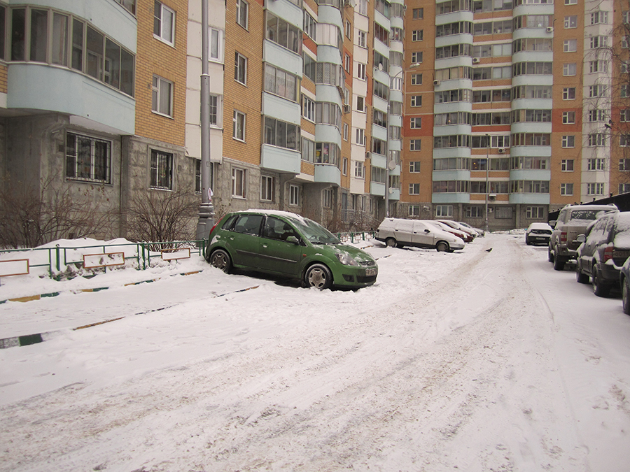 Платная парковка во дворах! 05