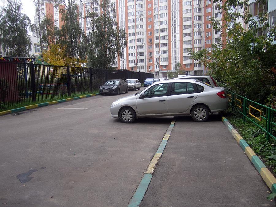 Платная парковка во дворах! 06