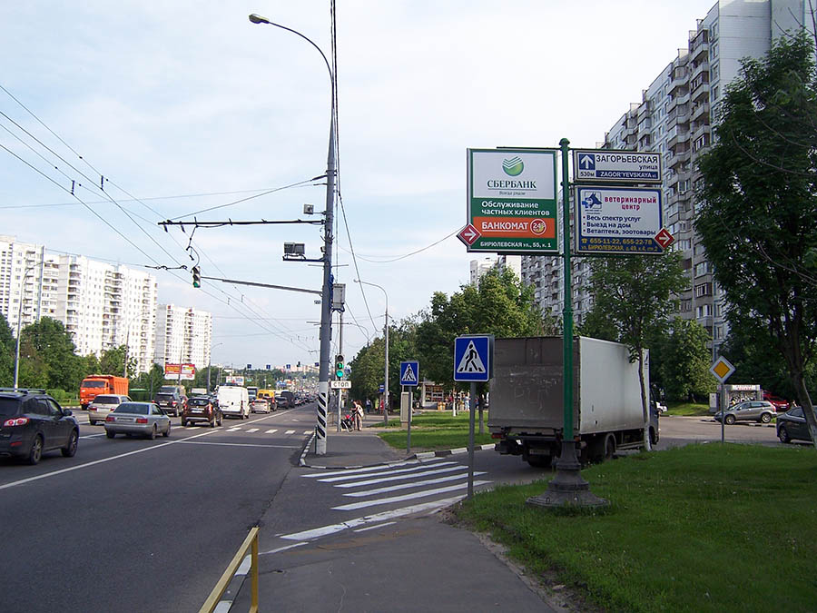 дублер Липецкой улицы при
