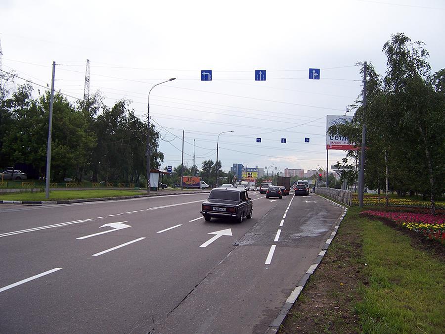 на Харьковский проезд.