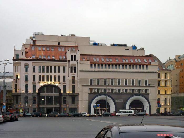 Нынешний вестибюль Лубянки