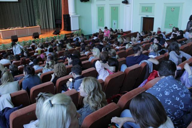 На семинаре Нэнси Мак-Вильямс (Nancy McWilliams) в Киеве 25 – 27 мая 2012 г.