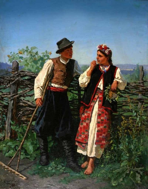 пимоненко встреча с земляком