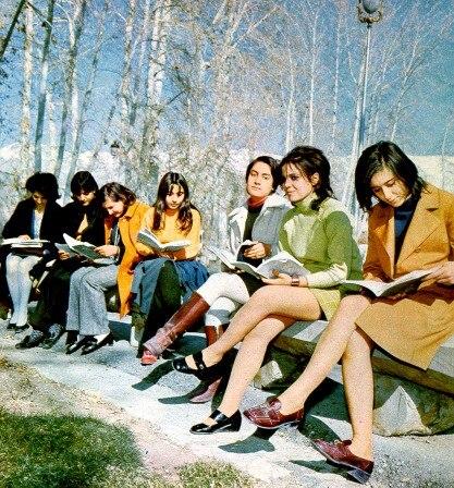 Iranian women students before 1979