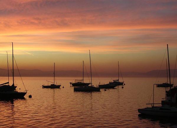 Sonnenuntergang - Am Lago Maggiore