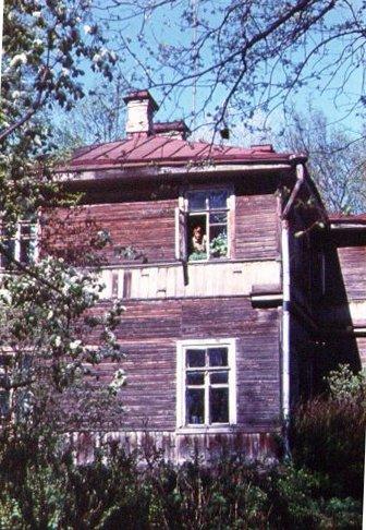 Nash dom, g. Pushkin, Moskovskoe shosse, 33. 70-e gody.