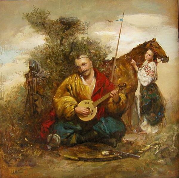 Kazak_mamai 19 vek