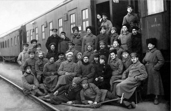 беспогонники 1917