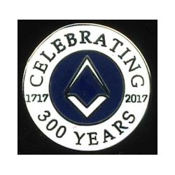 300-years-tercentenary-lapel-pin
