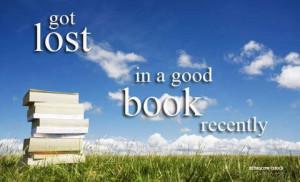 lost in book