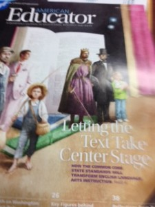 cover on CCSS reading