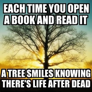 tree and reading